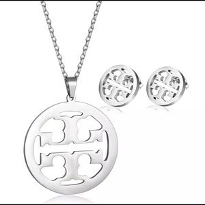 Tory Burch necklace & earring set